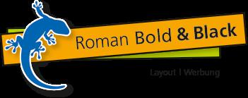 Roman Bold & Black